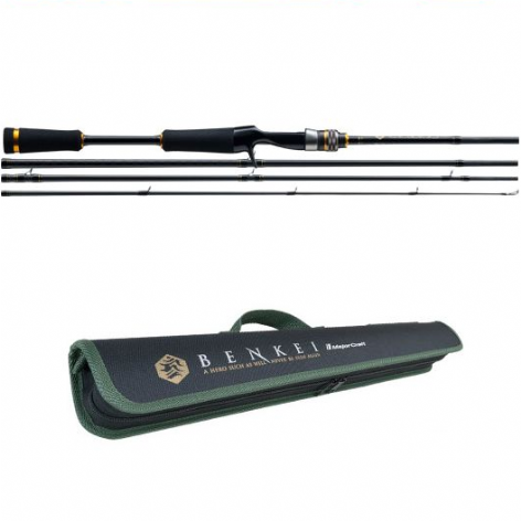 Major Craft Benkei BIC-664M Travel Rod